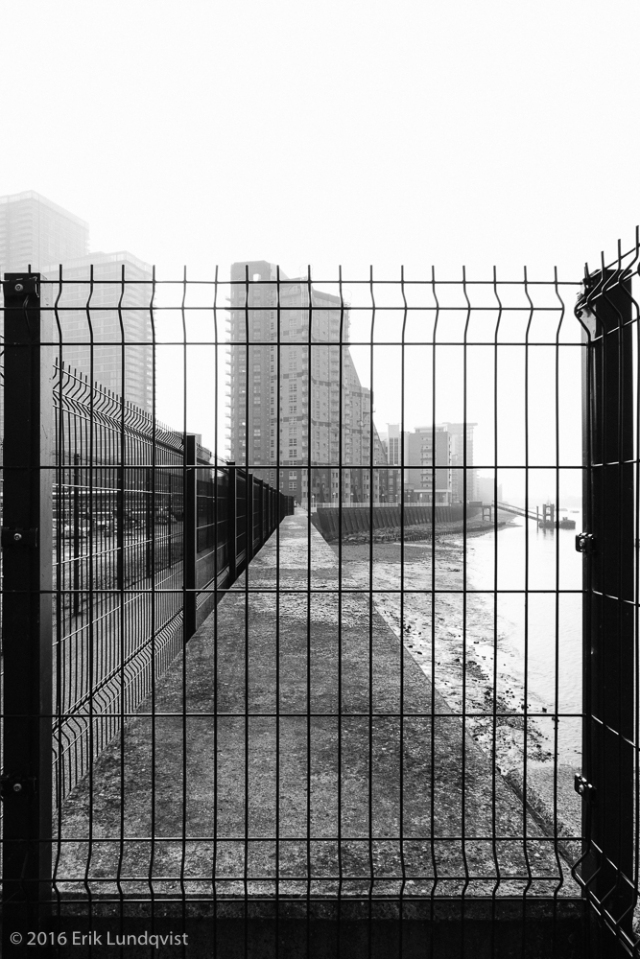 Canary Wharf, a prison for the soul?