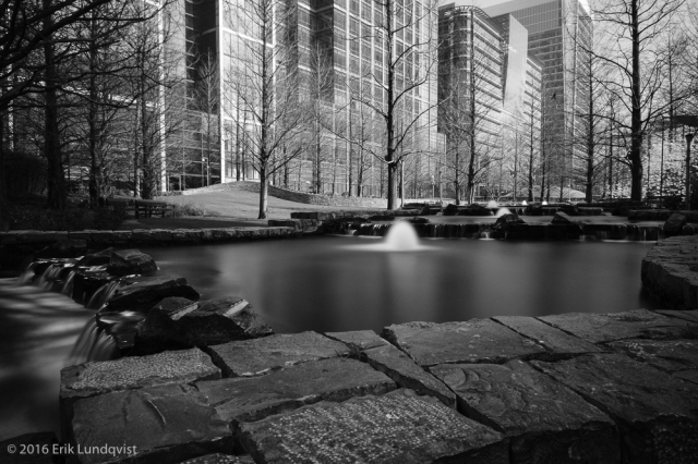 So glad I found this water feature so I could do a long exposure.