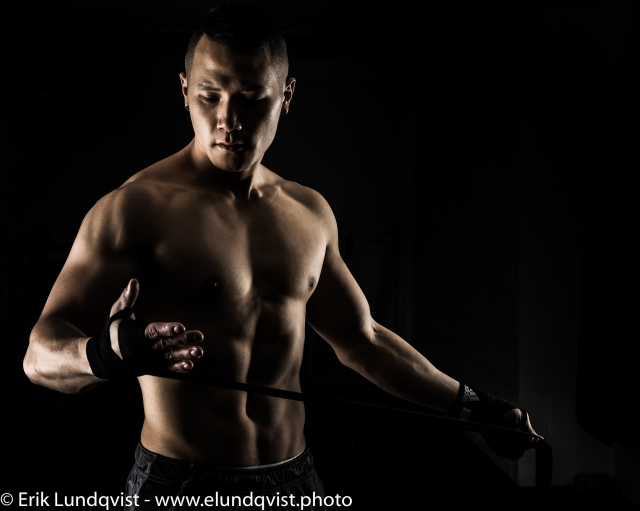 Edited photo from a fitness shoot with personal trainer Simon Zhao.